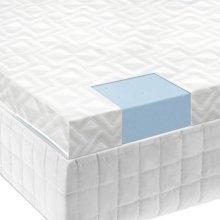 "2.5"" Gel Memory Foam Mattress Topper - Cal King"