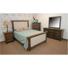 Uptown King Upholstered Bed