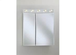 CD Series Cabinet Two Flat Beveled Mirrored Doors