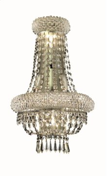 1803 Primo Collection Wall Sconce with Neck Chrome Finish