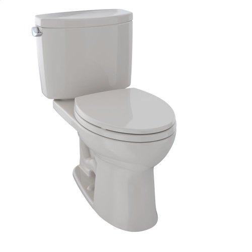 Drake® II Two-Piece Toilet, 1.28 GPF, Elongated Bowl - Sedona Beige