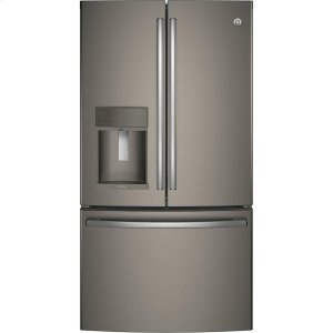 GE Profile™ Series ENERGY STAR® 27.8 Cu. Ft. French-Door Refrigerator with Hands-Free AutoFill - SLATE
