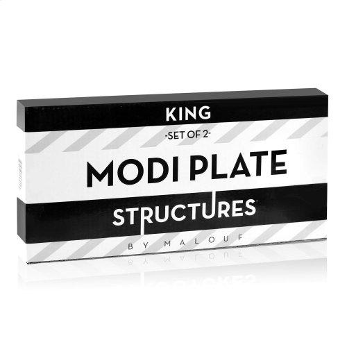 King Modi Plate
