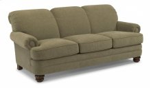 Bay Bridge Leather Sofa without Nailhead Trim