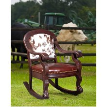 Tombstone Parlor Rocking Chair