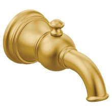 Weymouth brushed gold diverter spouts