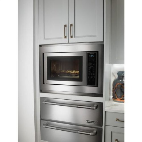 """24 3/4"""" Countertop Microwave Oven with Convection"""