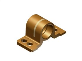 Panel Clip - Side Mount Female Brown