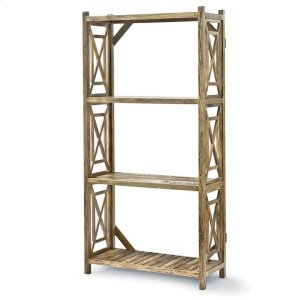 Regina AndrewWood Lattice Etagere