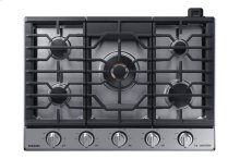 """30"""" Gas Chef Collection Cooktop with 22K BTU Dual Power Burner, NA30N9755TS/AA (Stainless)"""