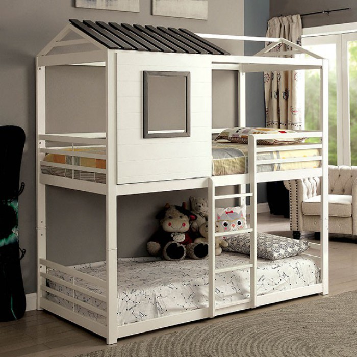 ... Furniture Of America CMBK935. Stockholm Twin/twin Bunk Bed