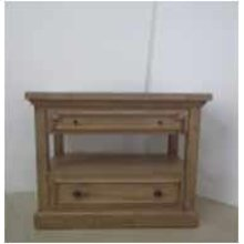 Florence Rustic Two-drawer Nightstand