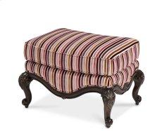 Wood Trim Chair Ottoman - Opt1
