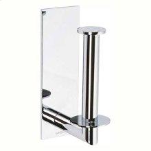 Polished Chrome Spare Toilet Tissue Holder