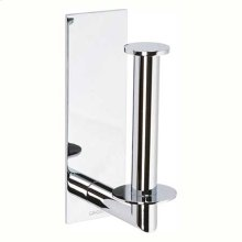 Polished Chrome Spare Toilet Tissue Holder