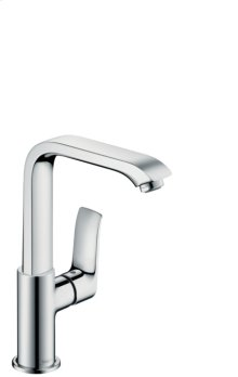 Chrome Single-Hole Faucet 230 with Swivel Spout and Pop-Up Drain, 1.2 GPM