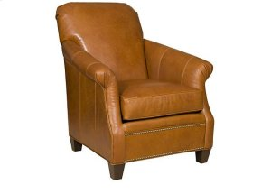 Frisco Leather Chair, Frisco Leather Ottoman