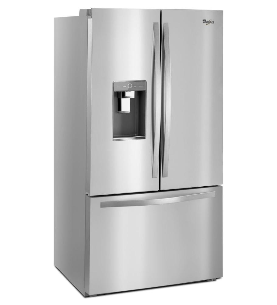 Attrayant Whirlpool(r) 36 Inch Wide French Door Refrigerator With Infinity Slide  Shelves   32 Cu. Ft.   Fingerprint Resistant Stainless Steel