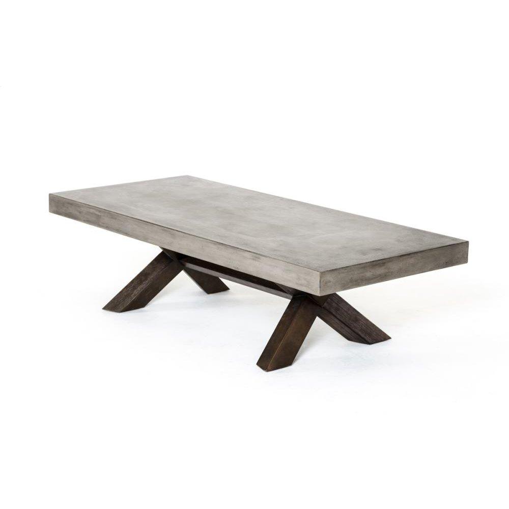 Modrest Urban Concrete Coffee Table