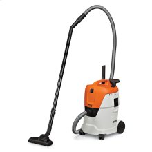 A sleek and powerful wet/dry vacuum for use around the home or workshop.