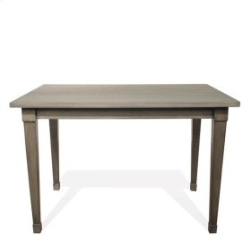 Vogue Counter Height Dining Table Gray Wash finish