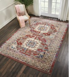 Cordoba Crd01 Brick Rectangle Rug 3'11'' X 5'11''