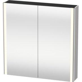 Mirror Cabinet, Nordic White Satin Matt Lacquer