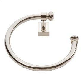 Legacy Bath Towel Ring - Polished Nickel
