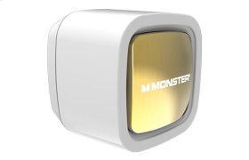 Mobile Single USB Wall Charger - White and Gold