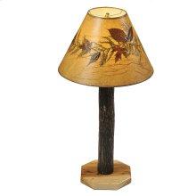 Buffet Lamp - Natural Hickory
