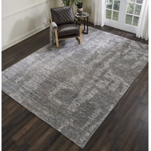 Ellora Ell03 Slate Rectangle Rug 9'9'' X 13'9''