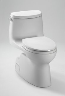 Cotton Carlyle® II One-Piece High-Efficiency Toilet, with SanaGloss, 1.28GPF