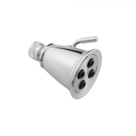 Satin Chrome - Retro #3 Showerhead - 2.0 GPM