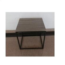 Industrial Sonoma Grey End Table