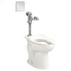 Madera 1.6 gpf Toilet with Selectronic Exposed AC Flush Valve System - White