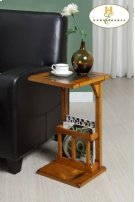 Chairside Table, Oak Product Image