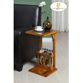 Chairside Table, Oak