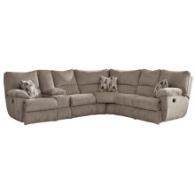 Elliot Lay Flat Sectional - Pewter