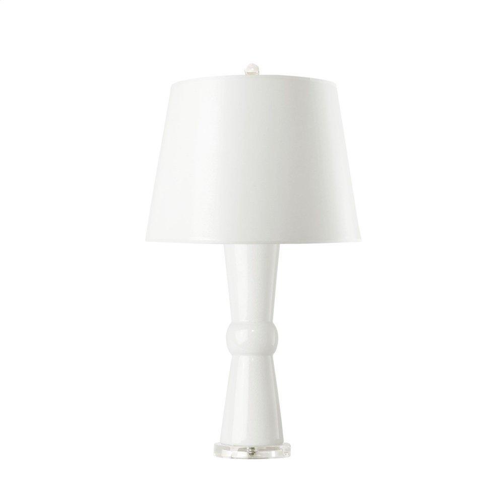 Clarissa Lamp, White