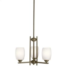 Eileen Collection Eileen 3 Light Mini Chandelier OZS