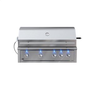 XO APPLIANCE42in Grill 4 Burner w/ Rotiss Burner LP also avail NG