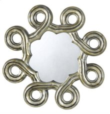 FORMIA HEXAGON PU FRAME MIRROR