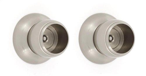 Royale Shower Rod Brackets A6646 - Satin Nickel