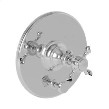 Weathered Brass Balanced Pressure Tub & Shower Diverter Plate with Handle. Less Showerhead, arm and flange.