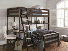 Metal Loft Bunk Bed (Twin)