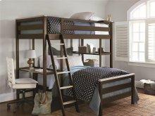 Metal Loft Bunk Bed (Twin)