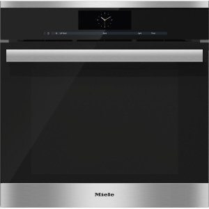 MieleDGC 6865 AM Steam oven with full-fledged oven function and XXL cavity - the Miele all-rounder with mains water connection for discerning cooks.