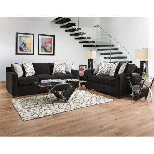 4050 - Guild Ebony Loveseat