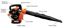 PB-255 Easy Starting Low Noise Handheld Leaf Blower