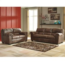 Signature Design by Ashley Bladen Living Room Set in Coffee Faux Leather [FSD-1209SET-COF-GG]